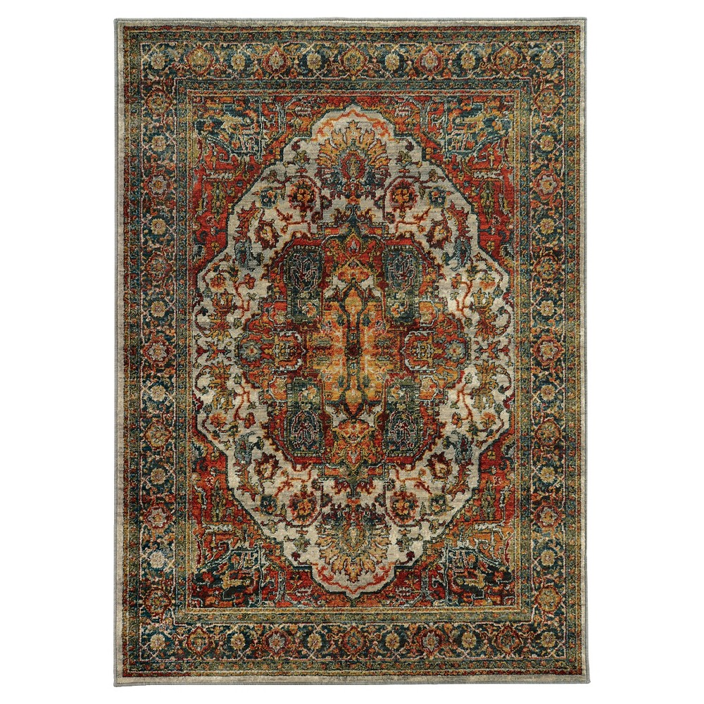 Skye Lane Area Rug (8'X11'), Multicolored
