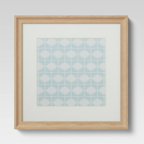 """8"""" x 8"""" Natural Wood Gallery Frame with Opening - Threshold™ - image 1 of 3"""