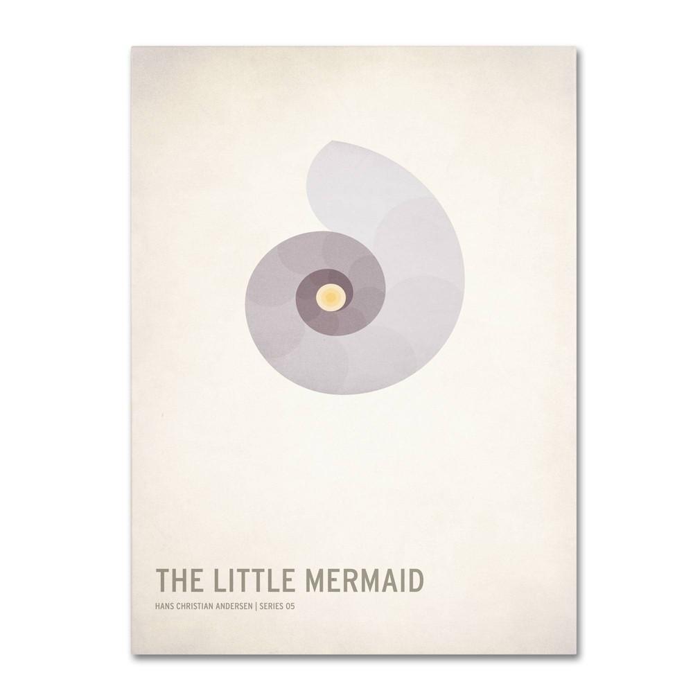 16 34 X 24 34 The Little Mermaid By Christian Jackson Trademark Fine Art