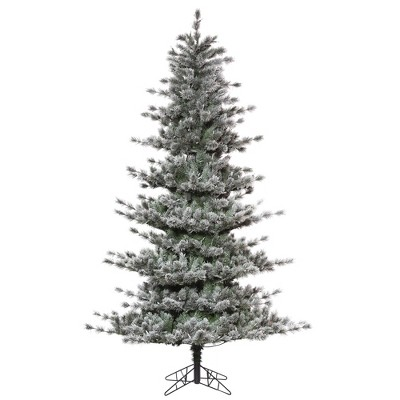 Vickerman Frosted Lacey Pine Artificial Christmas Tree