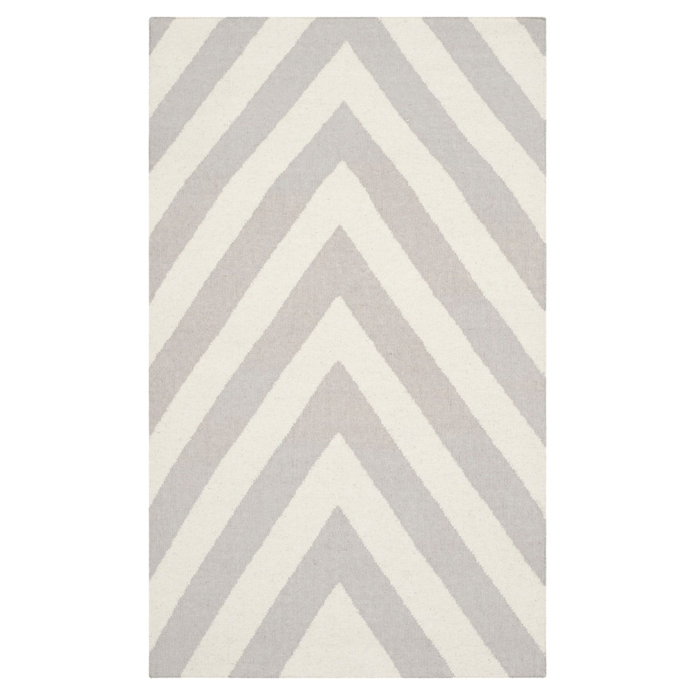 Buy Nala Dhurry Rug - Gray Ivory - (3x5) - Safavieh