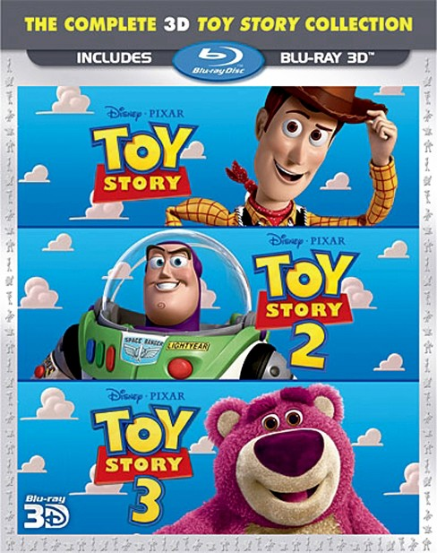 Toy story trilogy 3d (Blu-ray) - image 1 of 1