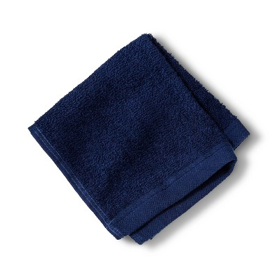 Washcloth Bath Towels And Washcloths Nighttime Blue - Room Essentials™