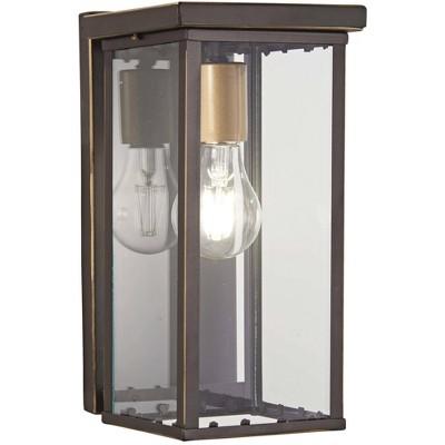 "Minka Lavery Casway 11 1/4""H Oil-Rubbed Bronze Outdoor Pocket Wall Light"