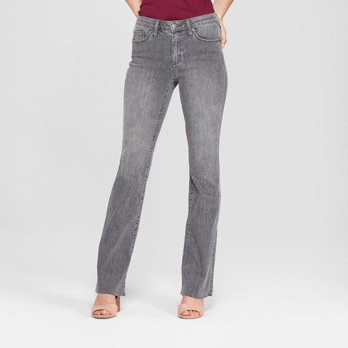 Women's High-Rise Flare Jeans - Universal Thread™ Gray Wash - image 1 of 3
