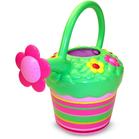 Melissa & Doug Sunny Patch Blossom Bright Flower Watering Can - image 1 of 3