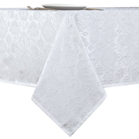 Kate Aurora Regency Collection Raised Jacquard Damask Fabric Tablecloth - image 1 of 4