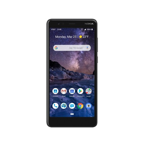 AT&T Prepaid Nokia 3.1 A (32GB) - Black - image 1 of 4