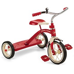 """Radio Flyer 10"""" Classic Tricycle - Red, Kids Unisex"""