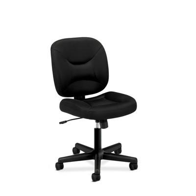 Valutask Low Back Task Chair Mesh Black - HON