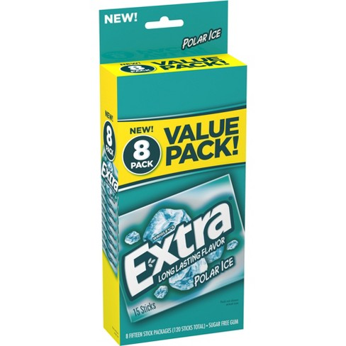 Extra Polar Ice Sugar-Free Gum Value Pack - 120ct - image 1 of 2