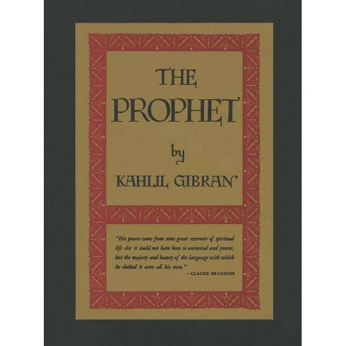 The Prophet By Kahlil Gibran Hardcover