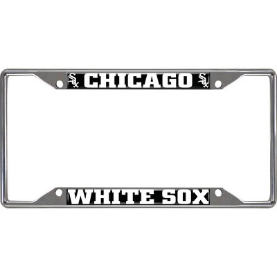 MLB Chicago White Sox Stainless Steel License Plate Frame