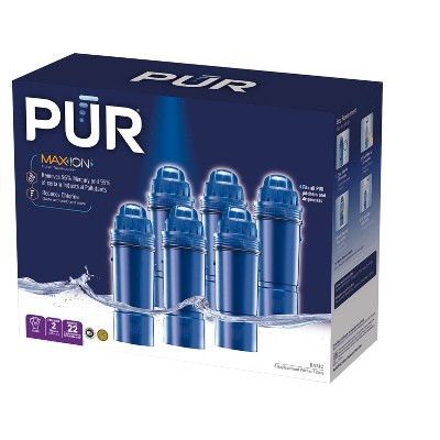 PUR Pitcher Replacement Filter, 6pk