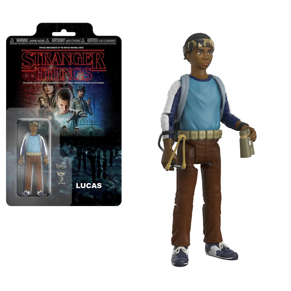 Image of Funko Action Figure: Stranger Things - Lucas Mini Figure