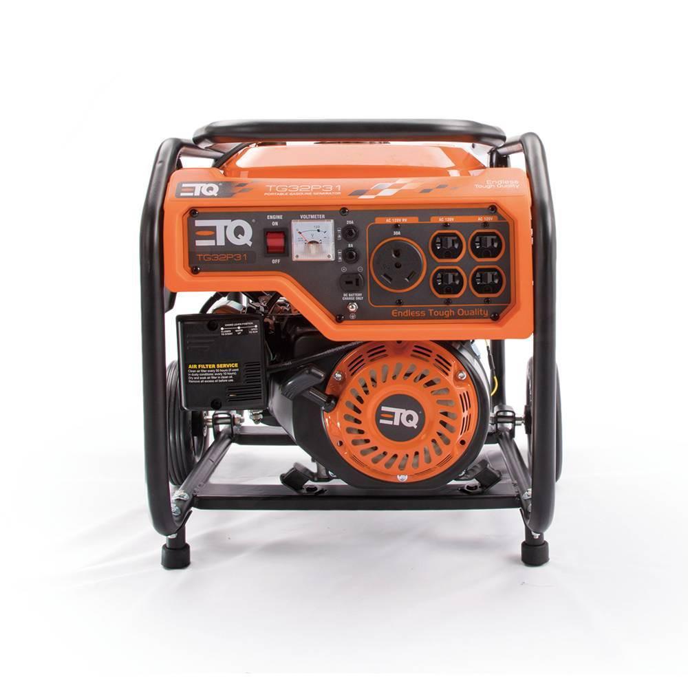 Image of 3.6KW Portable Power Gas Generator Orange - ETQ