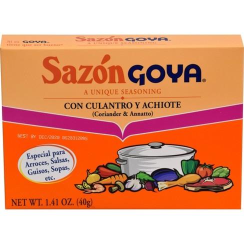 Goya Sazon Culantro y Achiote 1.41 oz - image 1 of 4