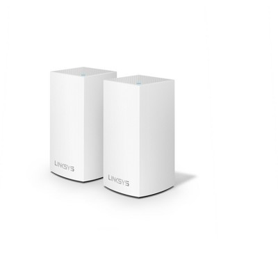 Linksys Velop AC2600 DB Whole Home Wi-Fi Mesh 2pk Wireless Router - Black (WHW0102)