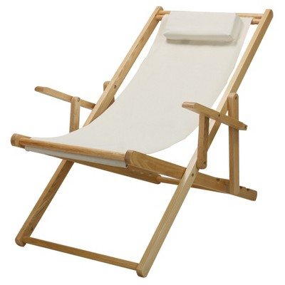 Sling Chair Natural Frame - Flora Home