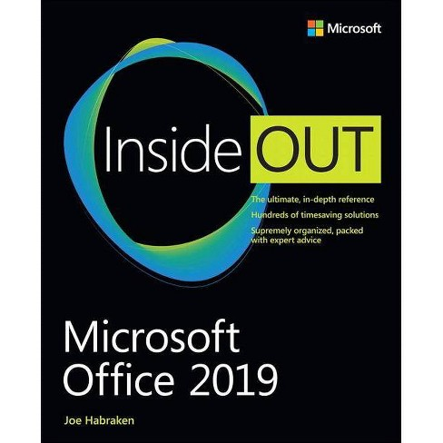 Microsoft Office 2019 Inside Out - by  Joe Habraken (Paperback) - image 1 of 1
