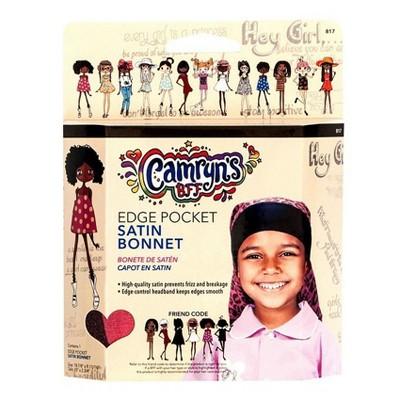Camryn's BFF Edge Pocket Satin Bonnet - 1ct