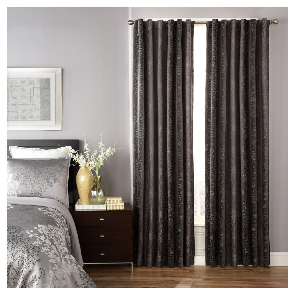 Best Avignon Blackout Curtain Panel Gray 52x63 Beautyrest