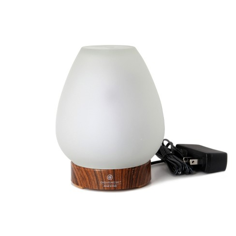 Essential Oil Diffuser Frosted White - Mind And Body By Chesapeake Bay Candle - image 1 of 2