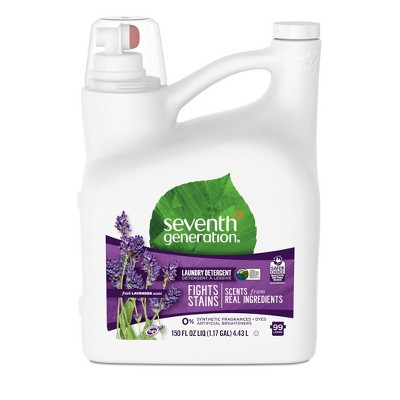 Seventh Generation Liquid Laundry Detergent 99-Loads Fresh Lavender Scent - 150 fl oz