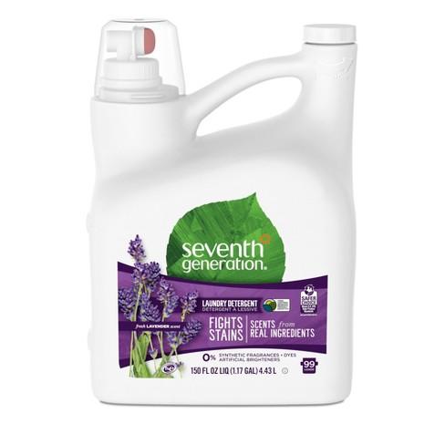 Seventh Generation Liquid Laundry Detergent 99-Loads Fresh Lavender Scent - 150 fl oz - image 1 of 4