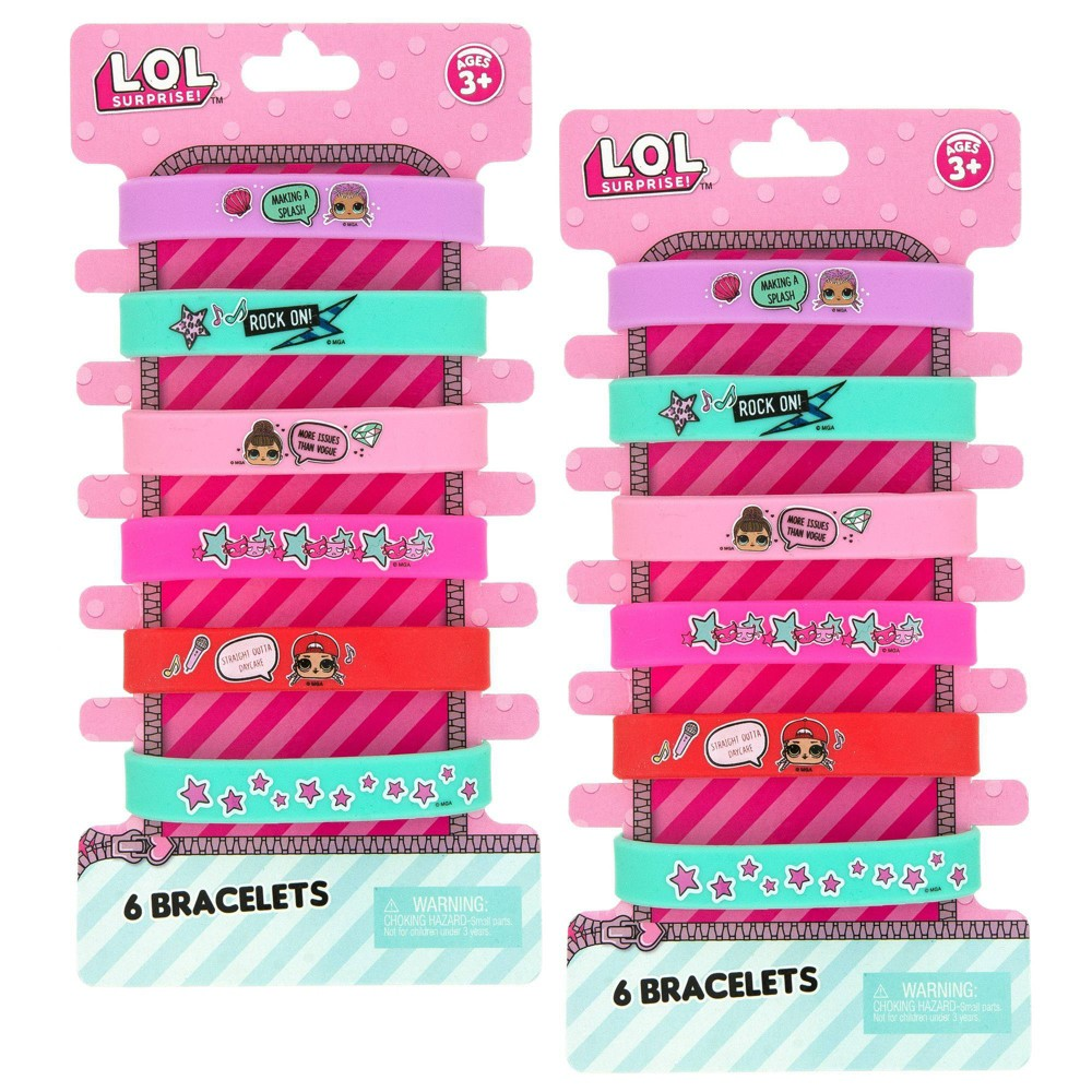 Image of L.O.L. Surprise! 12pc Printed Silicone Bracelet