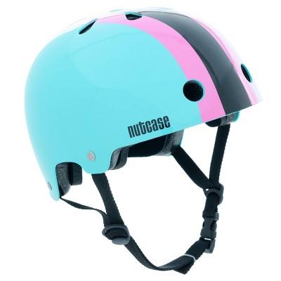 Nutcase Stripe Kids' Helmet -  Teal