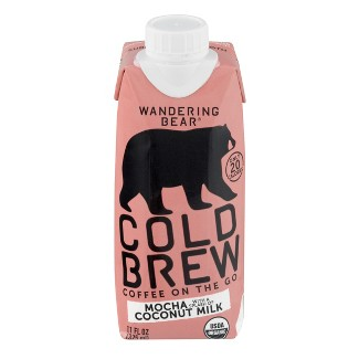 Wandering Bear Mocha with Coconut Milk - 11 fl oz