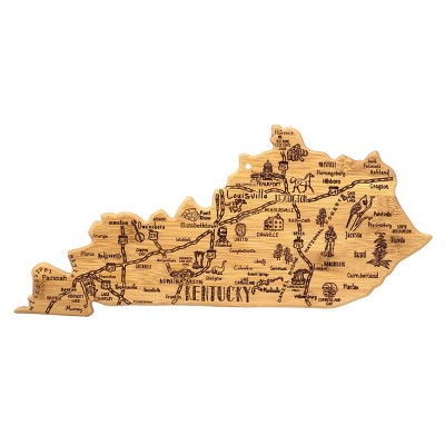 Totally Bamboo Destination Kentucky Serving and Cutting Board