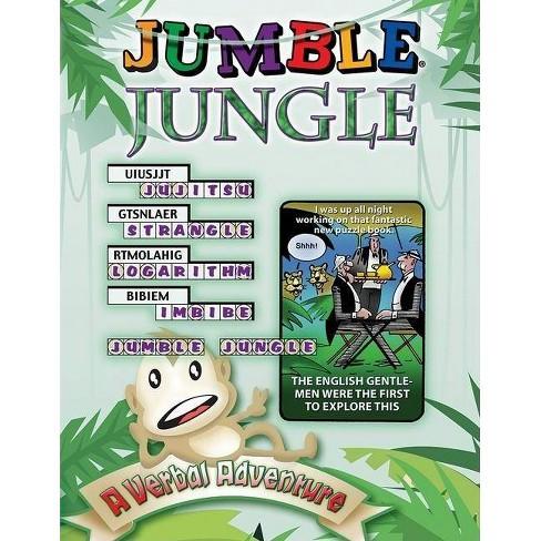 Jumble Jungle - by  Henri Arnold & Bob Lee & Mike Argirion (Paperback) - image 1 of 1