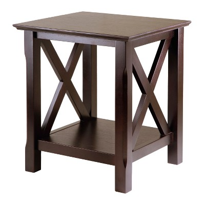 Xola End Table Cappuccino - Winsome