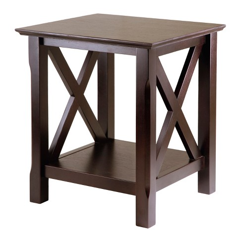 Xola End Table Cappuccino Winsome Target