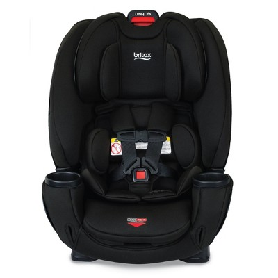 Britax One4Life ClickTight All in One Convertible Car Seat - Black SafeWash