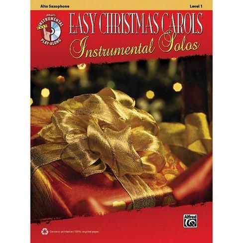 Alfred Easy Christmas Carols Instrumental Solos Alto Sax Book & CD - image 1 of 1