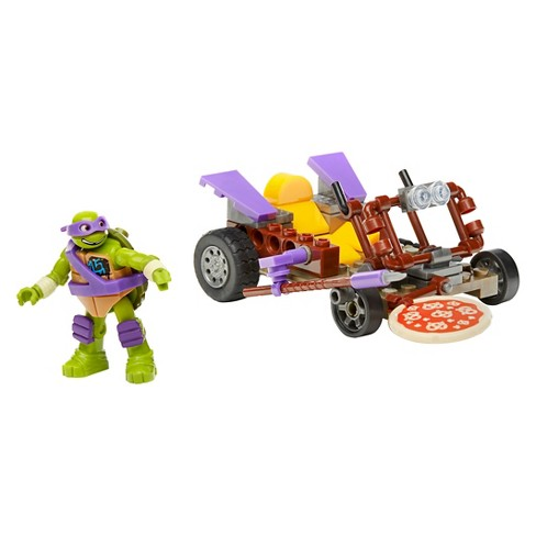 Mega Bloks Teenage Mutant Ninja Turtles Donnie's Pizza Buggy - image 1 of 4