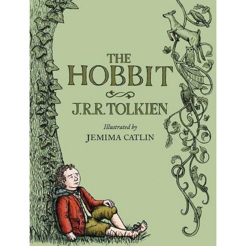 The Hobbit: Illustrated Edition - by  J R R Tolkien (Hardcover) - image 1 of 1