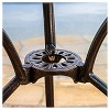 Cornwall 3pc Cast Aluminum Patio Bistro Set - Shiny Copper - Christopher Knight Home - image 4 of 4