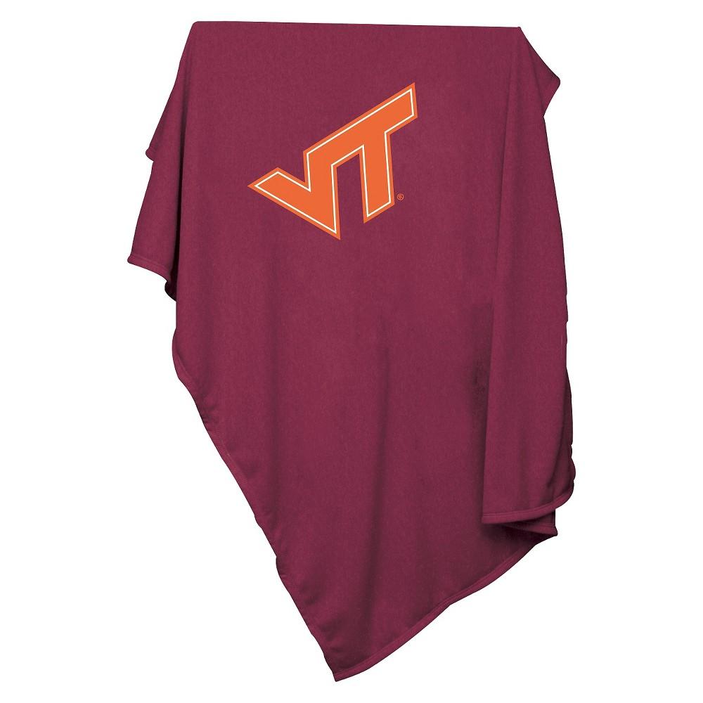 Ncaa Virginia Tech Hokies Sweatshirt Throw Blanket