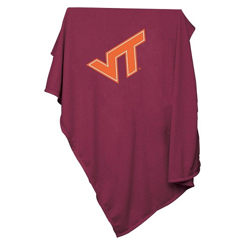 NCAA Virginia Tech Hokies Sweatshirt Throw Blanket - image 1 of 4