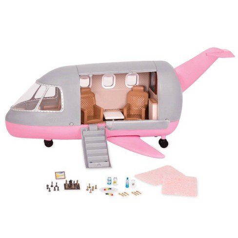 "Lori - Airplane for 6"" Mini Dolls - Luxury Jet - image 1 of 4"