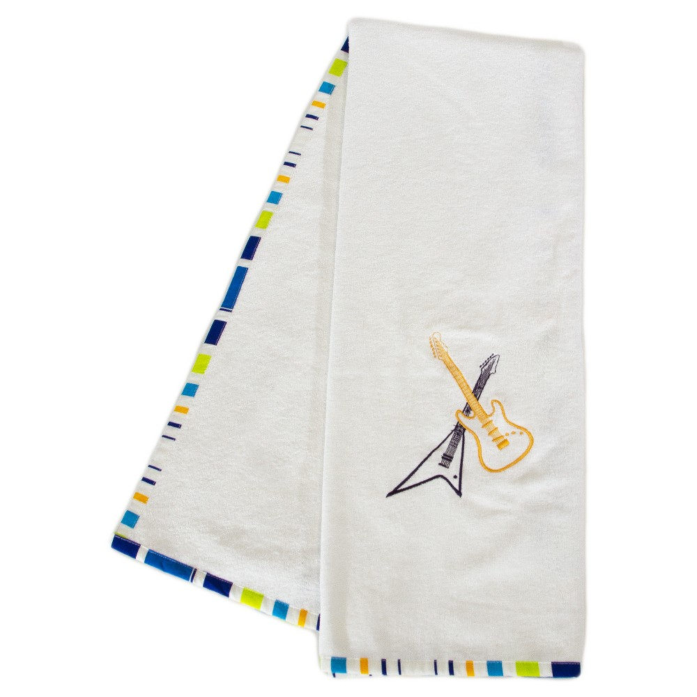 Image of Rock Star Blue Towel Set 2pc - Pam Grace Creations