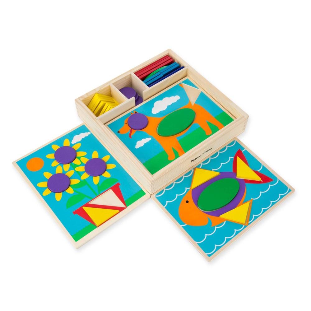 Melissa Doug Beginner Pattern Blocks