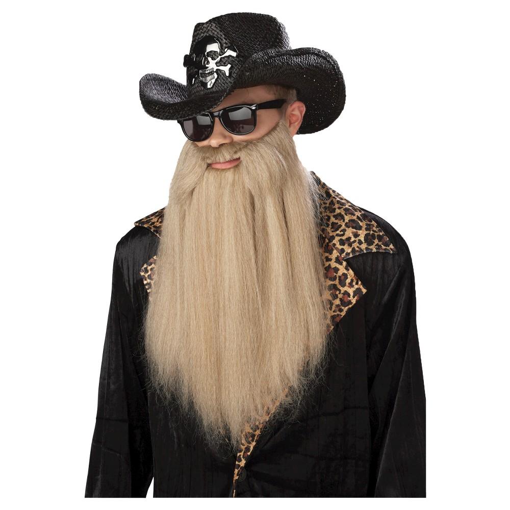 Sharp Dressed Costume Wig, Men's, Tan