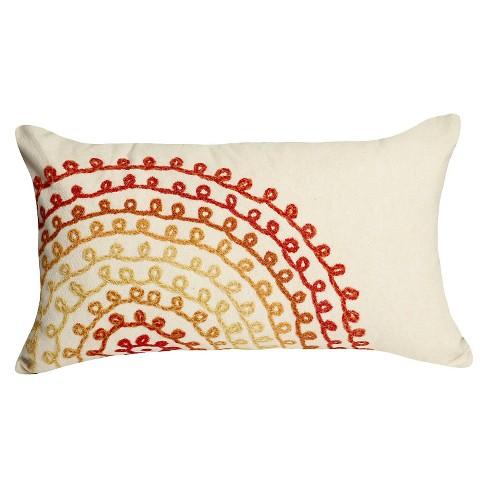 Red Rose Outdoor Throw Pillow Liora Manne Target