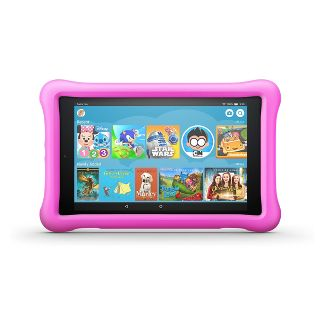 Amazon Fire HD 8 Kids Edition Tablet 8; HD Display (8th Generation, 2018 Release) - Pink Kid-Proof Case - 32GB