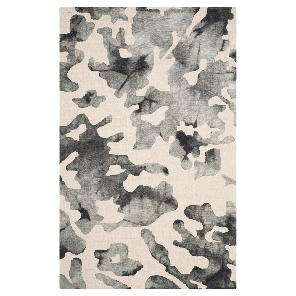 Bardene Area Rug - Beige/Charcoal (Beige/Grey) (5'x8') - Safavieh